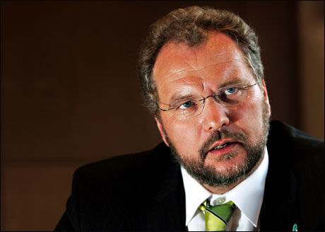 STATSMINISTER? Politiske kommentatorer har tro på Lars Sponheim (V). Foto: Frode Hansen
