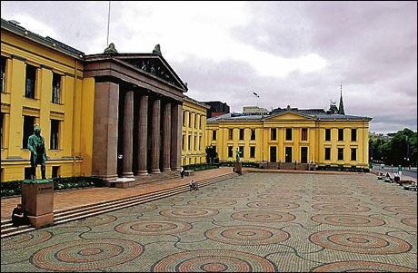FULLT: 4800 studieplasser står ledige i landet, men på universitetet i Oslo er det fullt. Foto: Scanpix