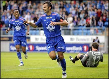 SCORET HATTRICK: Magne Hoset gjorde tre mål i kveld. Foto: Scanpix