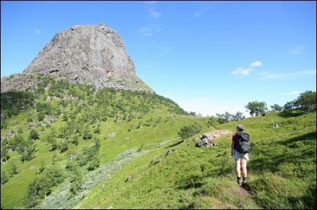 VAKKERT: Hamarøyskaftet i Nord-Norge. Foto: Istockphoto