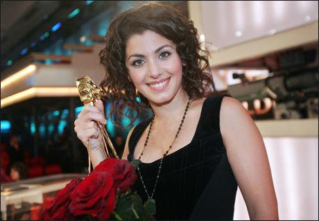 BEKYMRET: Sangeren Katie Melua er bekymret for hennes familie som befinner seg i Georgia. Foto: AFP