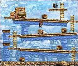 NOSTALGISK: Store deler av «Braid» er en hyllest til 80-tallets plattformspill. Her er det for eksempel definitivt noe kjent! Foto: NUMBER NONE