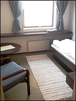 STÅR TOMT: Dette er et av rommene som nå står tomme fordi senteret ikke har fått en avtale med Helse Sør-Øst. Foto: Fossanåsen