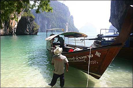 VAKRE KRABI: De to siste månedene har Thailand og Tyrkia hatt flest søk blant FINN.no's chartermål. I fjor på disse tider lå Thailand helt nede på 7.plass. Foto: Dag Fonbæk