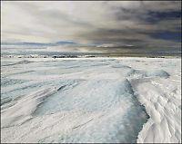 Kjempesprekker i grønlandsk isbre
