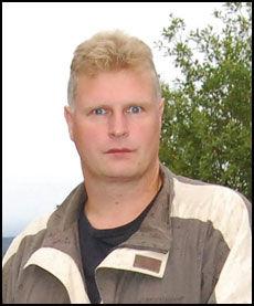 SLOSS IMOT: Tor-Einar Olaussen har startet folkeaksjon mot asylmottak i Ballangen. Foto: JØRN INDRESAND