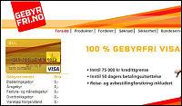 Sperrer Visa-kort