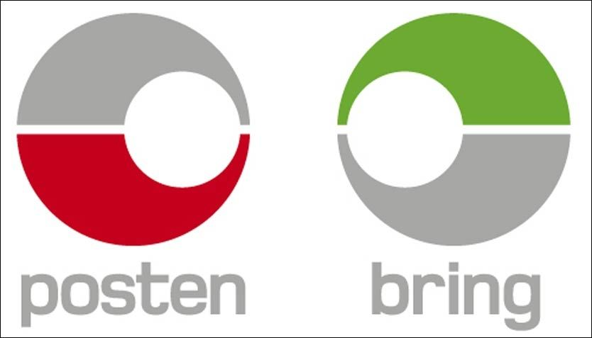PROFILENDRING: Slik ser Postens nye symboler ut. Foto: POSTEN