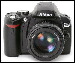 NIKON D60: D60 er lettere enn D80, men også mindre avansert. Foto: Nikon