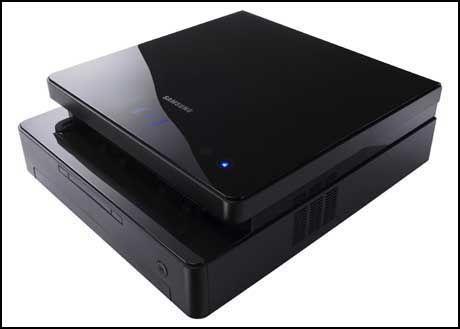 Du kan nå få skrivere som også ser bra ut, som Samsung SCX-4500 i sort pianolakk. (Foto: Samsung)