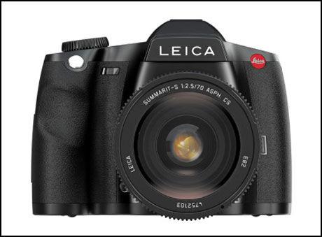 S2: Leica S2 har en bildebrikke som er på størrelse med enkelte av de gamle mellomformatkameraene. Foto: Leica
