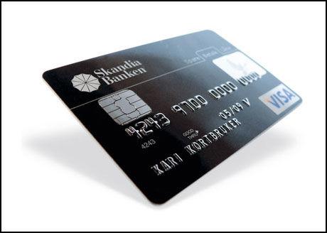 FLERE TUSEN KORT SPERRES NÅ: Skandiabanken sperrer nå flere tusen Visa-kort for å hindre svindel. Foto: Skjermbilde