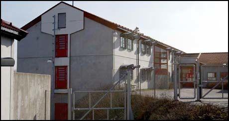INNSATT: 29-åringen satt varetektsfengslet her i Skien fengsel. Foto: Roger Neumann
