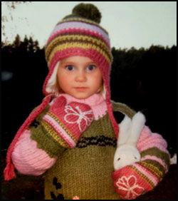 DØD: Fem år gamle Alexandra Bohnhorst Eneberg Sandvik. Foto: Privat