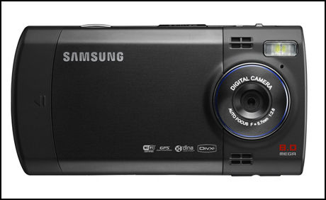 Denne telefonen har et kamera på åtte megapiksler. Foto: Samsung
