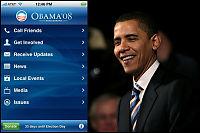 Obama bruker iPhone for å vinne velgere