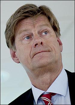 IKKE FERDIG: Bobestyrer Jon Skjørshammer vil drive inn forskuddsbetalte penger fra 13 personer i Terra Securities indre selskap. Foto: SCANPIX
