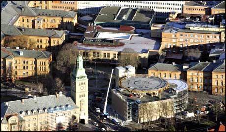 MEGASYKEHUS: Oslo vil få et kjempesykehus dersom Ullevål får viljen sin og blir slått sammen med Aker sykehus og Rikshospitalet. Foto: Knut Erik Knudsen/VG