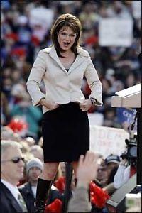 Palin ser ut som en million