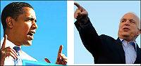 Obama og Mccain duellerer i vest