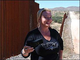 KRITISK TIL INNVANDRING: Shawna Forde jobber for at færre folk skal komme seg ulovlig inn i USA. Foto: Bjørnar Tommelstad