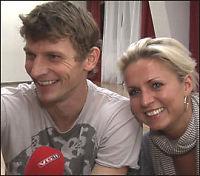 Tore Andre og Lene Alexandra «rokker» opp til finalekamp