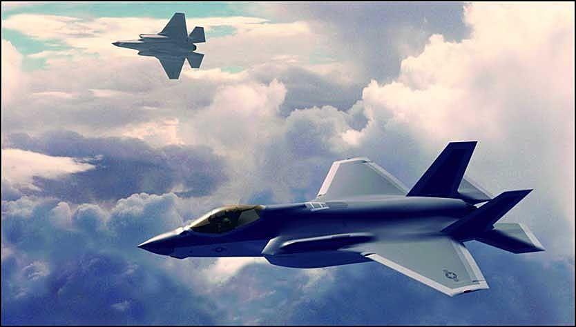 KLAR FOR KAMP: Joint Strike Fighter fra Lockheed Martin. Foto: