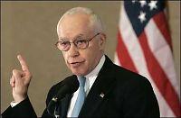 USAs justisminister kollapset under tale