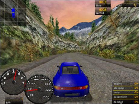 Need For Speed: Porsche 2000. Foto: SKJERMBILDE