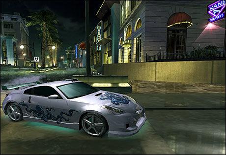 Need For Speed: Underground 2. Foto: SKJERMBILDE