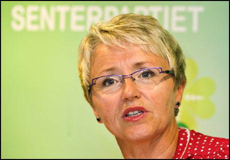 SKEPTISK: Samferdselsminister og leder i det norske Senterpartiet, Liv Signe Navarsete, tror ikke nødvendigvis fredagens vedtak ender med at Island blir EU-medlem. Foto: Scanpix