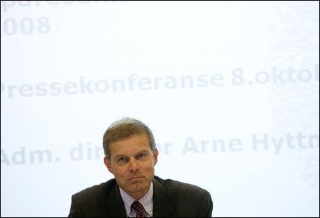 KJØP, KJØP: Administrerende direktør Arne Hyttenes i Sparebankforeningen ber folk om å gjennomføre alle planlagte innkjøp. Foto: Scanpix