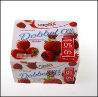 Yoplait yoghurt 0 inneholder sukralose Foto: VG