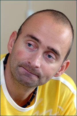 KJEMPET DA: Nå avdøde Kjetil Hagensen Knutsen kjempet mot forkortet erstatning i 2004. Han vant frem. Foto: Terje Mortensen