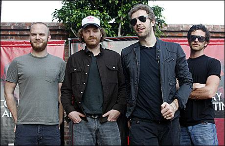 NY VIDEO: Coldplay. Foto: Reuters