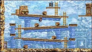 LEKEN INNOVASJON: «Braid» tar utgangspunkt i konvensjoner fra Nintendos «Donkey Kong»- og «Super Mario Bros»-dager og innoverer med interessant spillbarhet og spennende dybde. Foto: NUMBER NONE/MICROSOFT