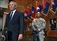 Bush erkjenner rekordunderskudd