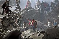 Palestinske fanger flykter fra sønderbombet fengsel