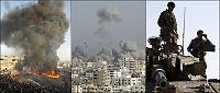 Dødelig bomberegn over Gaza