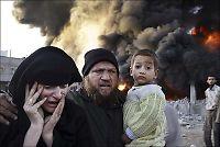 - Palestinske barn drept i israelske luftangrep