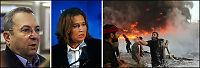 - Israel bomber innenriksdepartementet og universitet i Gaza