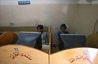 Full nettkrig i Gaza