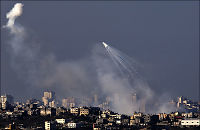 Åtte drept i granatangrep på Gazastripen