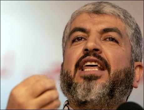 - SVEKKET: Khaled Meshaal og Hamas-ledelsen er svekket, hevder israelsk etteretning. Foto: AFP
