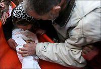 Begravet tre barn i Gaza