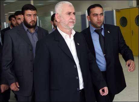 DREPT: Hamas-ministeren Said Siam ble torsdag drept i et israelsk luftangrep på Gaza by. Foto: AFP