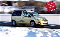Test av Citroën Berlingo: Skistativ inne