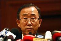 FN-sjefen håper våpenhvilen holder