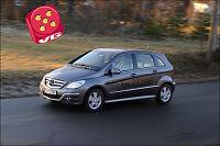 Test av Mercedes-Benz B 180 CDI: Høyt og romslig