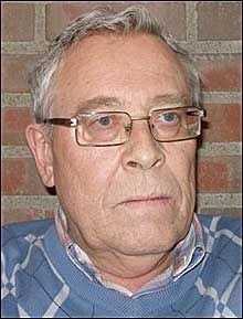 PASIENT: Jan Erik Tærud var nylig innlagt på Ahus. - En utrivelig opplevelse, sier han. Foto: PRIVAT